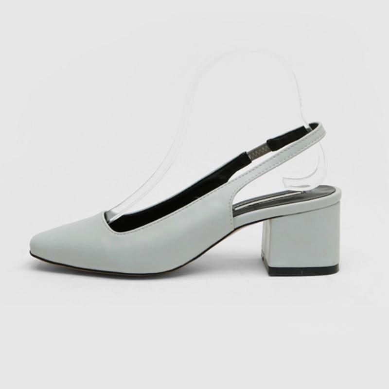 Mowen Slingback Mid Heel (6cm) Grey