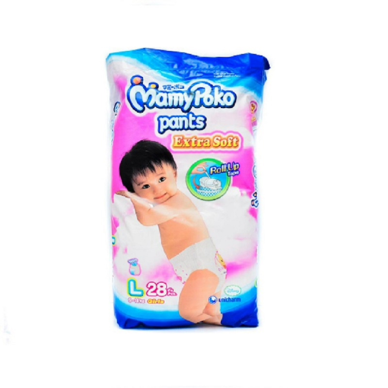 MamyPoko Popok Celana Royal Soft L 28S (Girl)