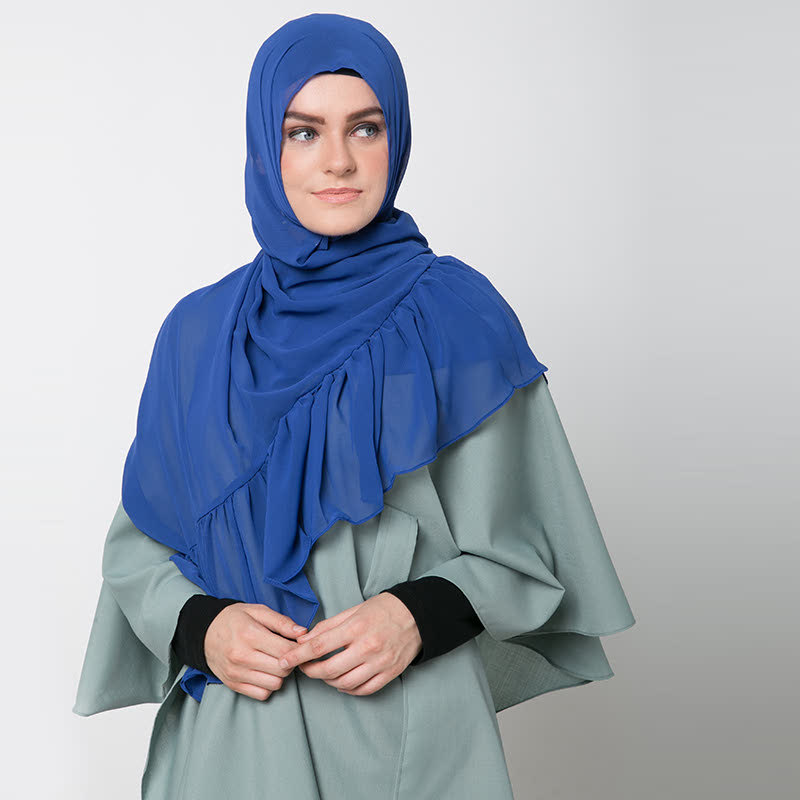 Kerudung Damour 049 Blue
