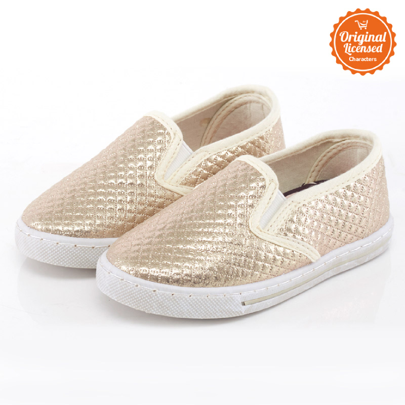 Disney Tsum Tsum Flat Shoes Girl Gold