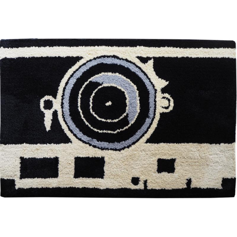 Keset Kaki Handtuft Halus Unik Vintage Camera 40x60 cm