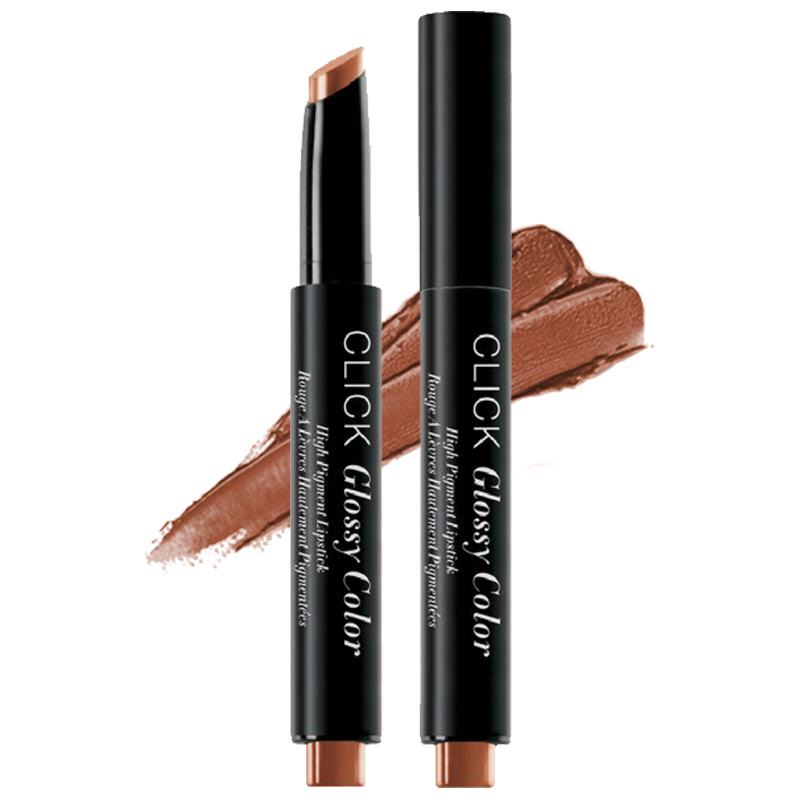 Absolute New York Click Glossy Color High Pigment Lipstick Toffee