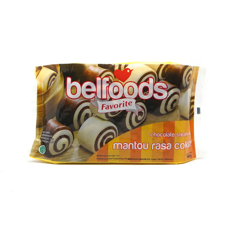 Belfoods Favorite Mantau rasa Coklat 386 gr
