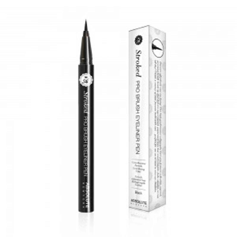 Absolute New York Stroked Pro Brush Eyeliner Pen Black