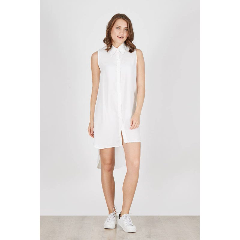 Maebi Dress White