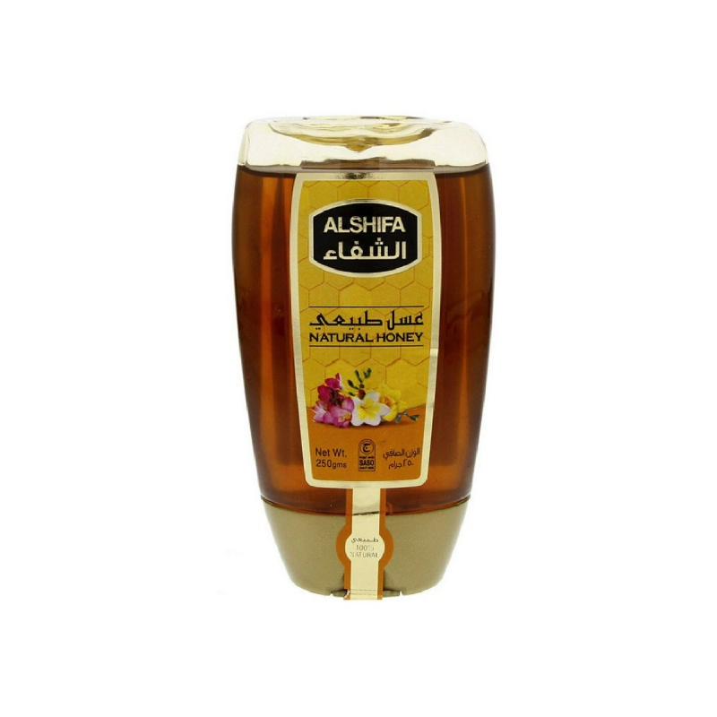 Al Shifa Madu Natural Squeeze Bottle 250gr