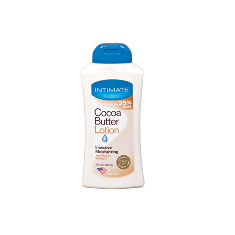 INTIMATE COCOA BUTTER LOTION 590 ML