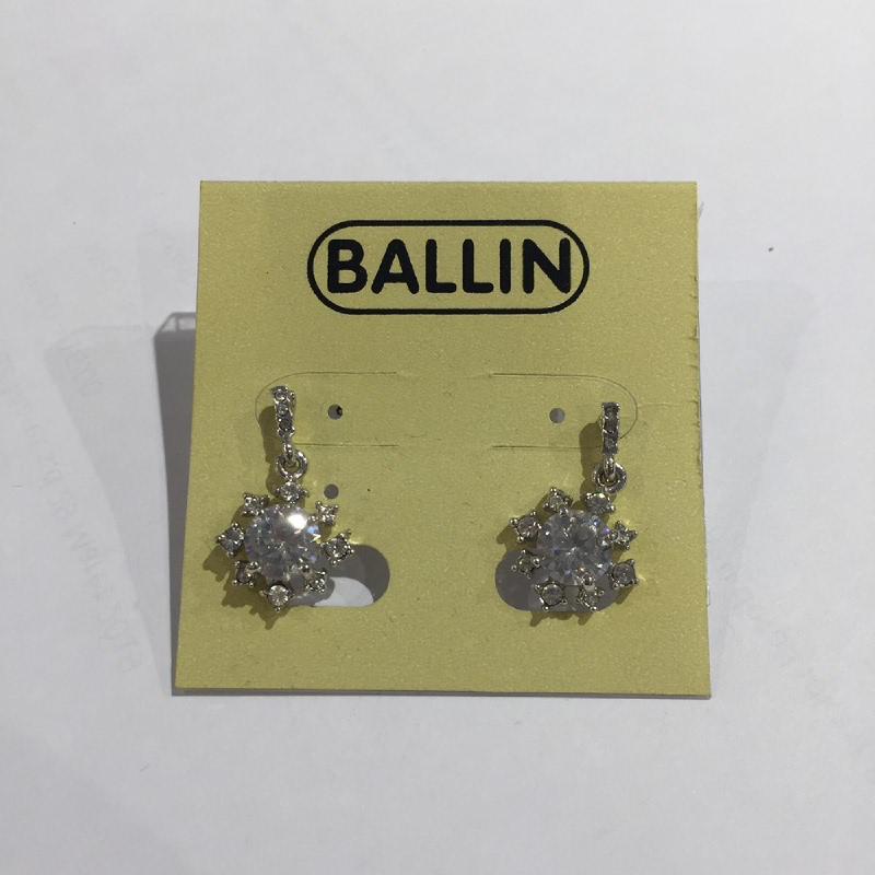 Ballin Women Earing YZ-E636S Silver