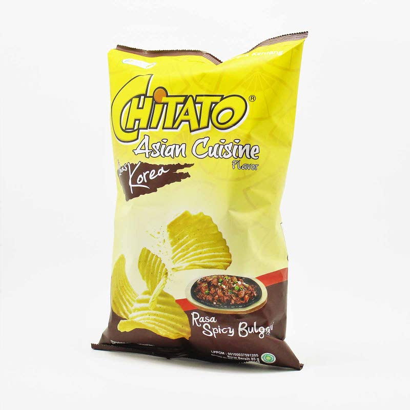 Chitato Spicy Bulgogi 85 Gr