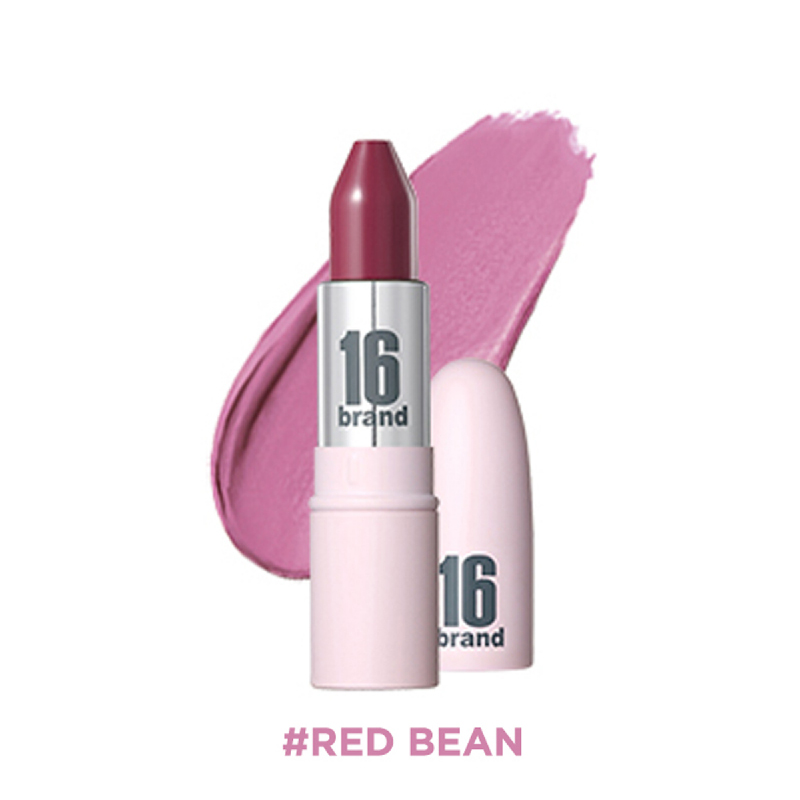 16brand RU Lipstick Matt - Red Bean