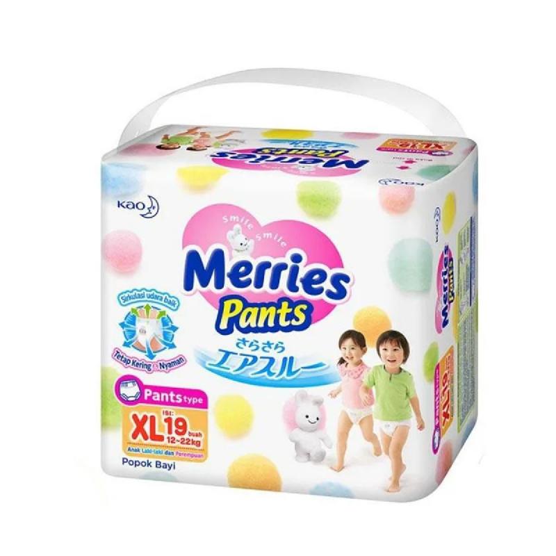 Merries Popok Bayi Premium Pants Size Xl 19S