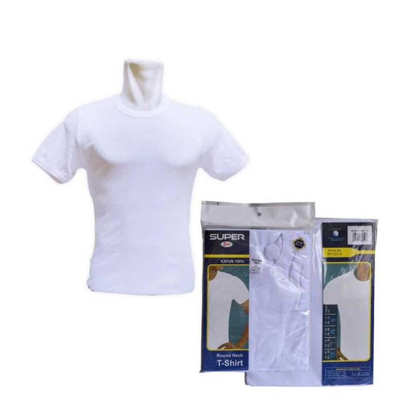 Rider T-Shirt Round Neck White Type R223BW Size L