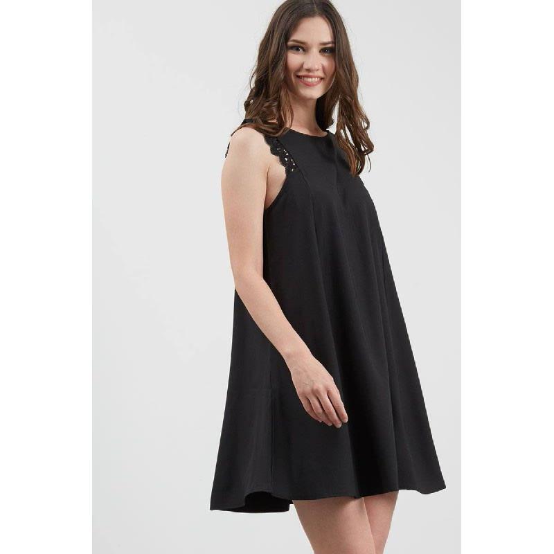 GW Krefeld Dress in Black