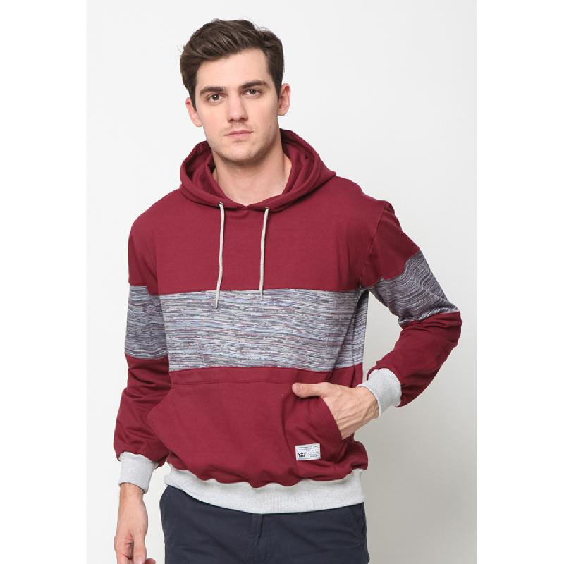 17Seven Sweatershirt Hoodie Maroonkombi