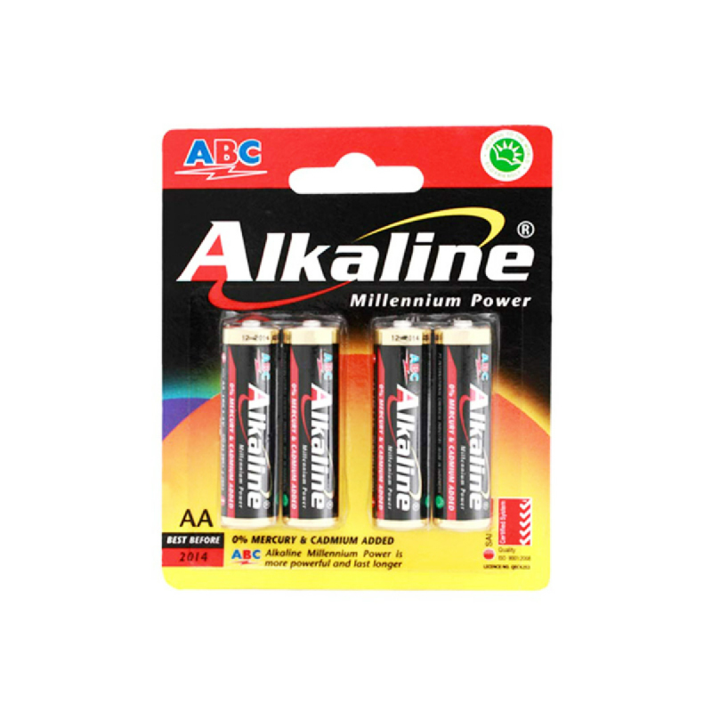 Abc Battery Alkaline Lr-06 Mp 4B