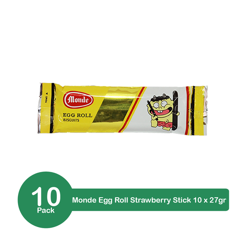 Monde Egg Roll Chocolate Cream 10 pack x 27gr