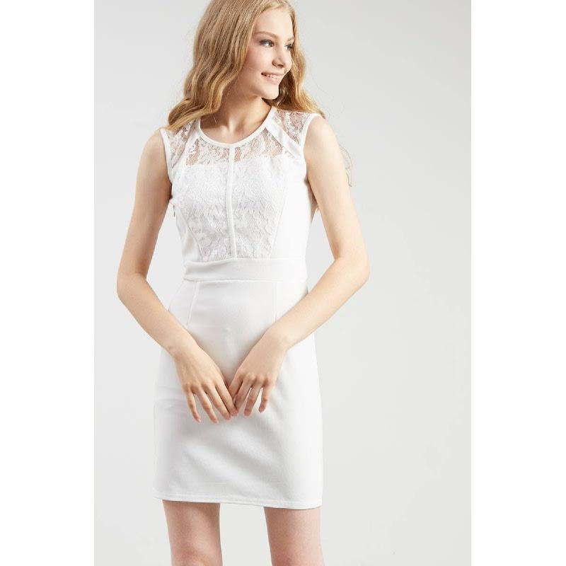 Francois Senden Dress in White