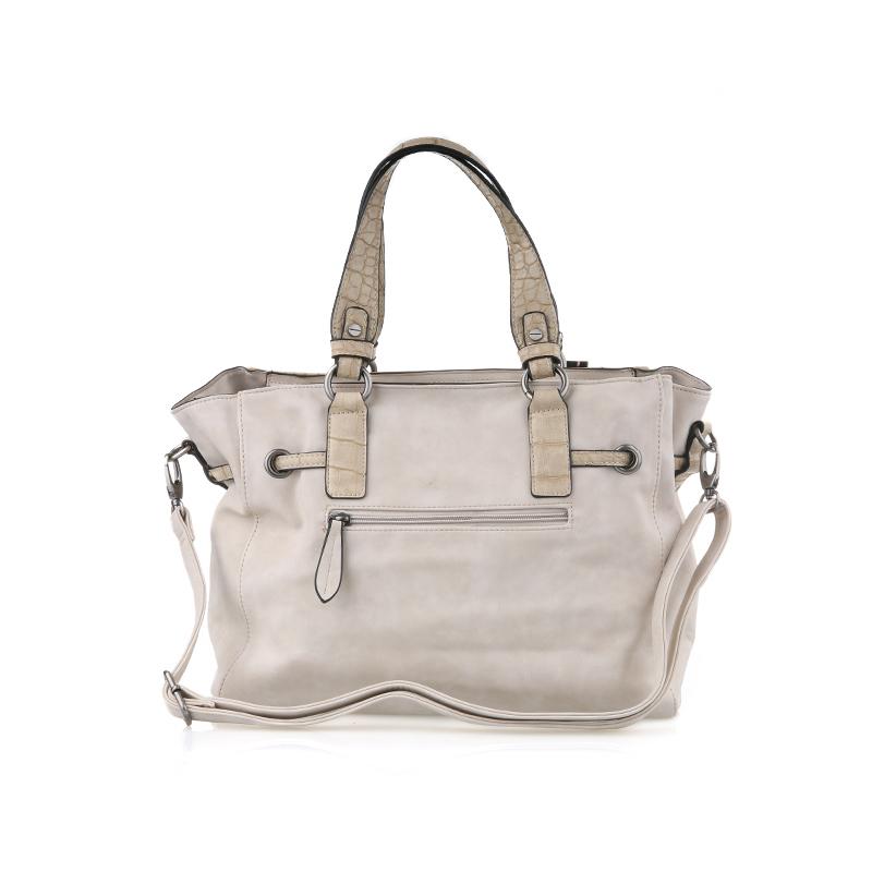 Bellezza Hand Bag CZ30141 Cream