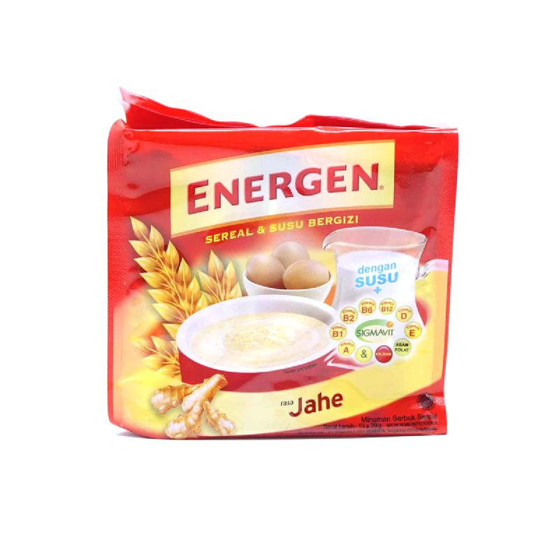 ENERGEN JAHE BAG (10SCx30G)