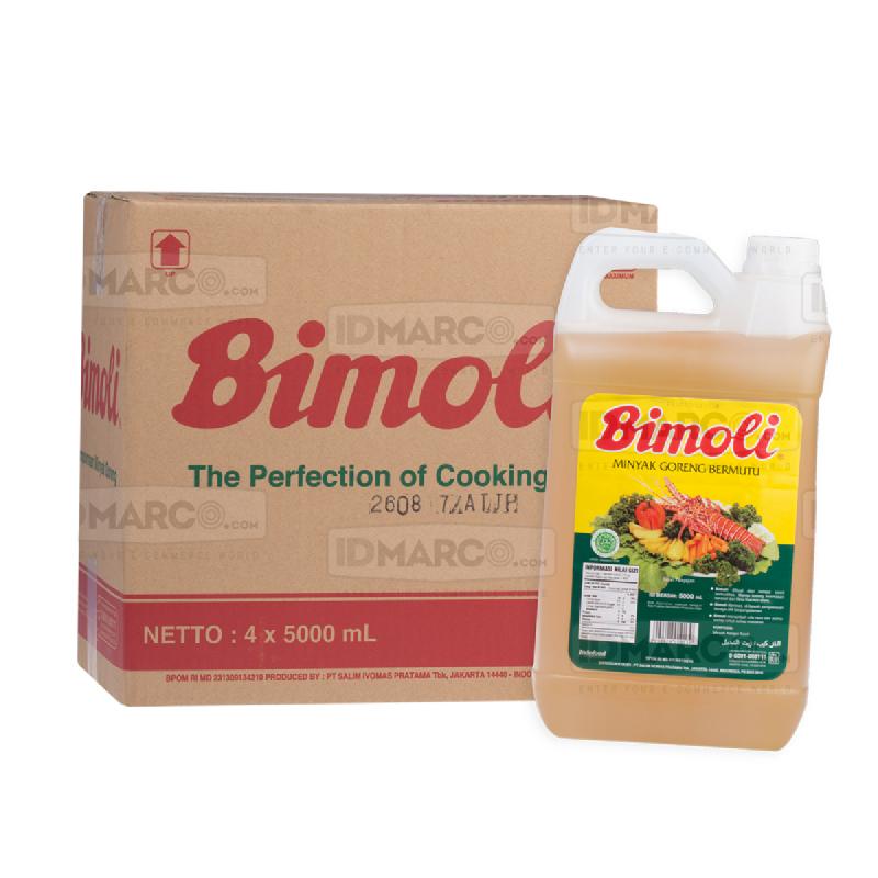 Bimoli Minyak Goreng 5 Liter Jerigen