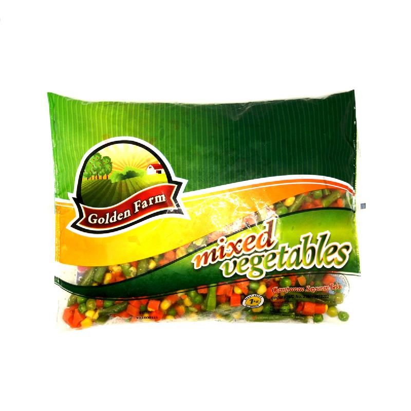 Golden Farm Mixed Vegetables 1 Kg