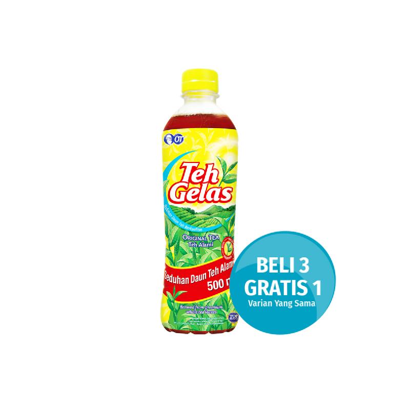 Teh Gelas Original Pet 500Ml (Buy 3 Get 1)