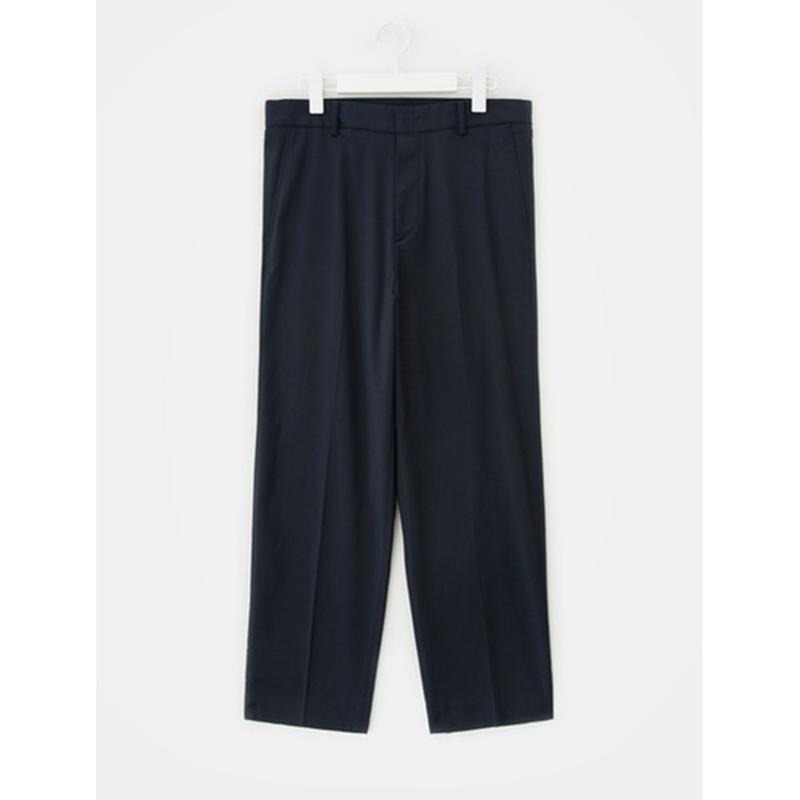 8 seconds Men Navy Line Print Tapered Pants - Navy