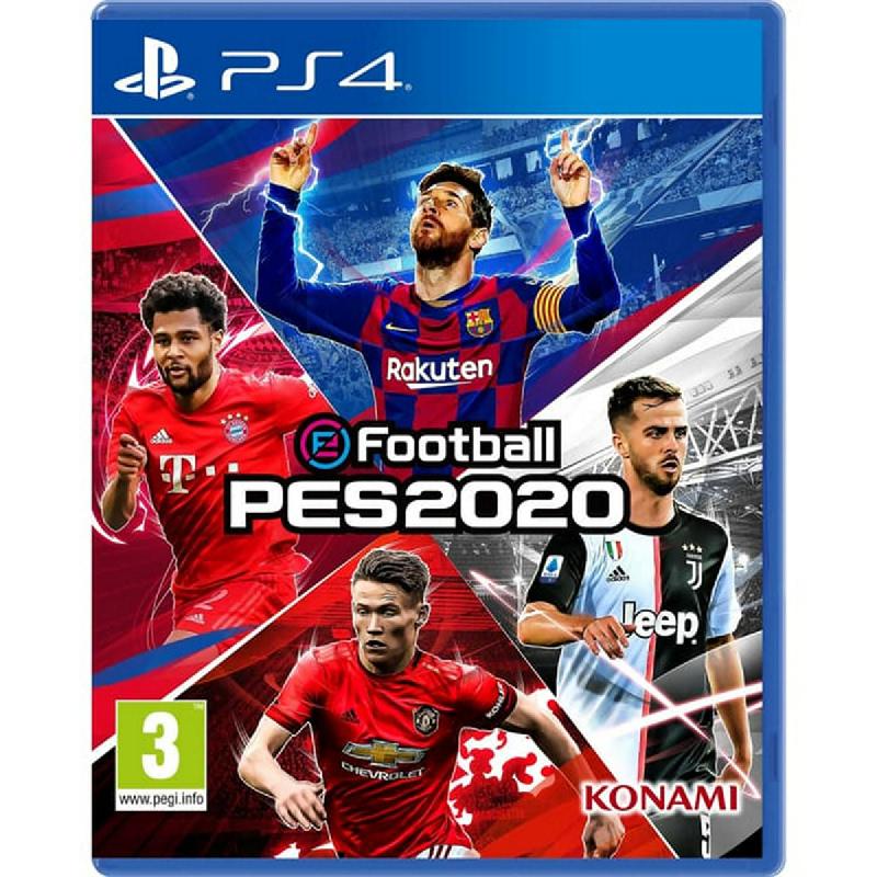 Sony Playstation PES Pro Evolution Soccer 2020 PS4 Region Tiga