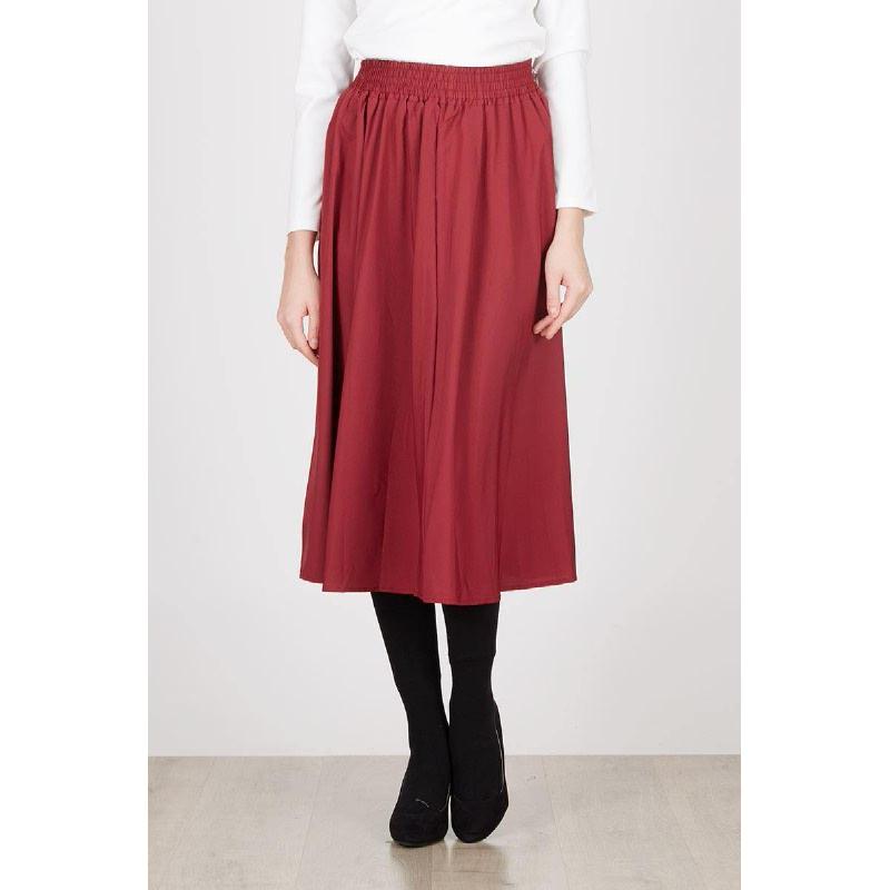 Aniello Skirt Maroon