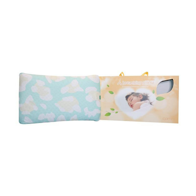 Comfi Bantal Bayi Breathing Pillow Kids Blue
