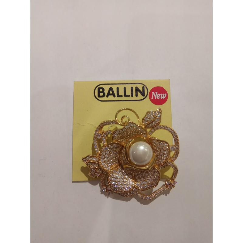 Ballin Women Brooch FF-BR0011G Gold