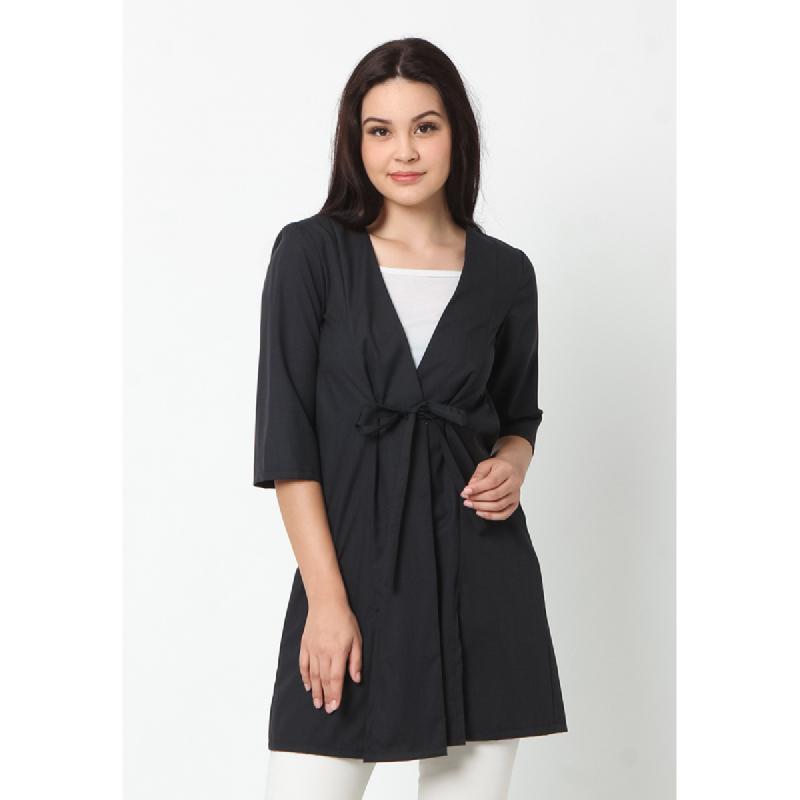 Agatha Makayla Kimono Outwear Black