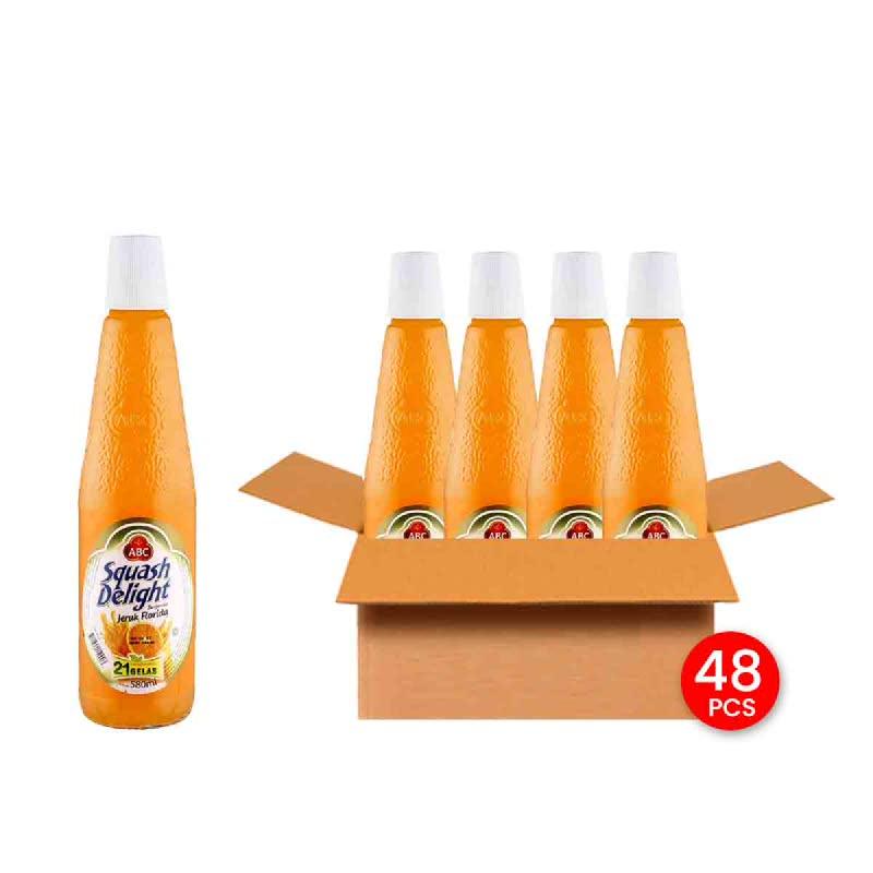 Abc Squash Orange Btl 460 Ml (Get 48)
