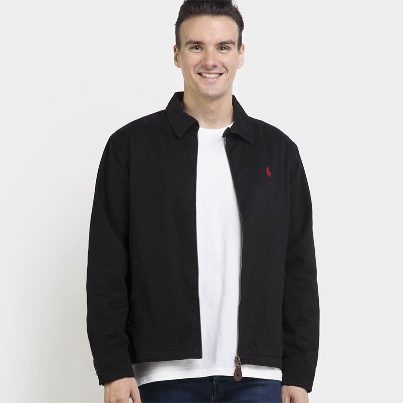 Polo Ralph Lauren Jacket Man Black