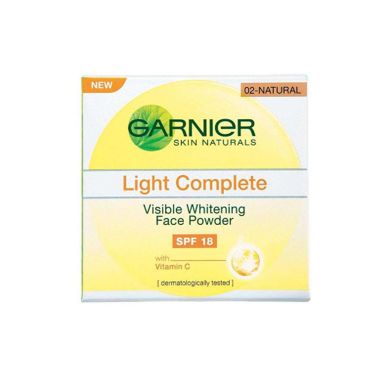 Garnier Light Visible Powder Natural Ebv