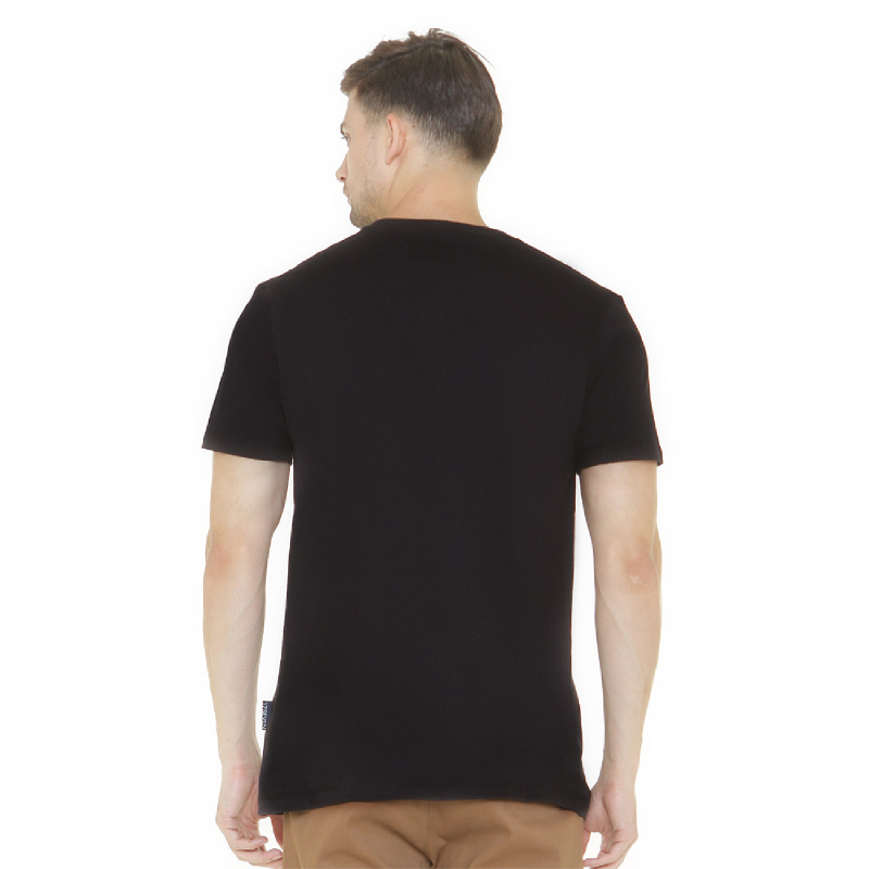 17Seven Slowblacked Men Tshirt Black