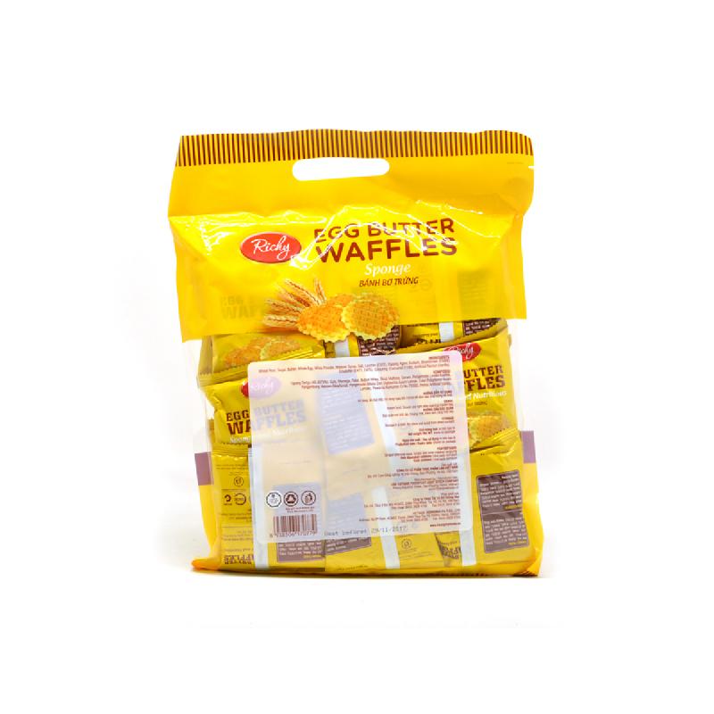 Richie Egg Butter Waffles 270G