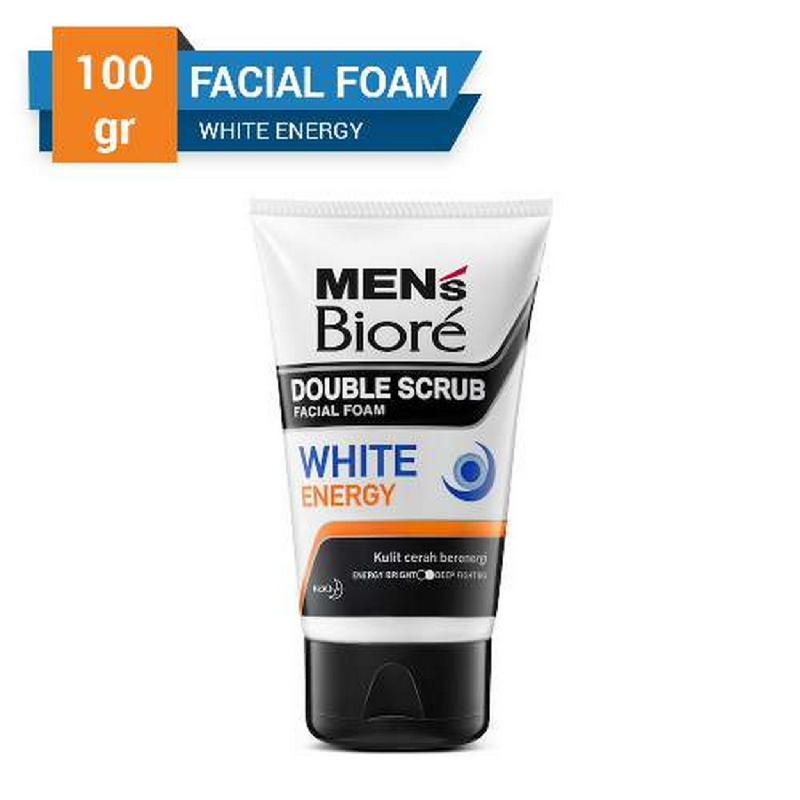 Biore Men's Facial Foam White Energy (Pop Up) 100 g