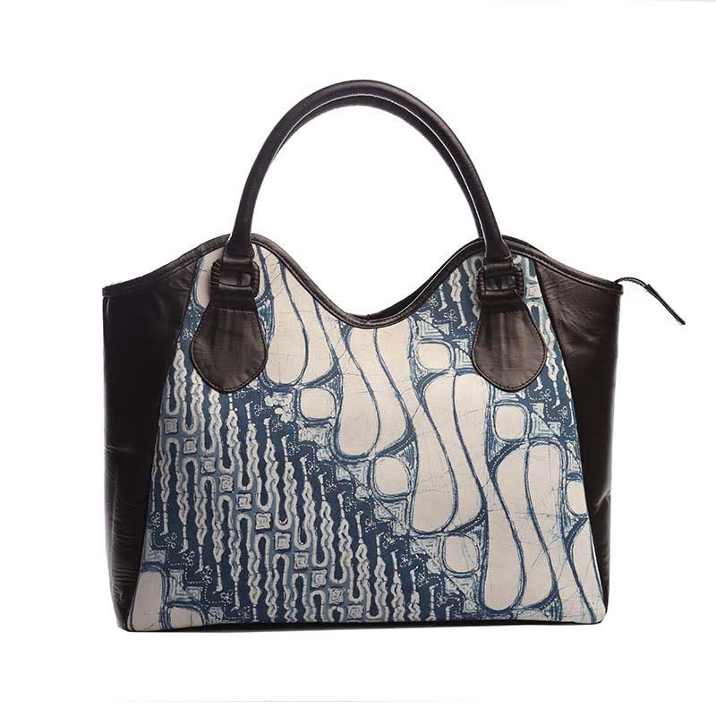 Warnatasku Handbag WT180094 Coklat Putih