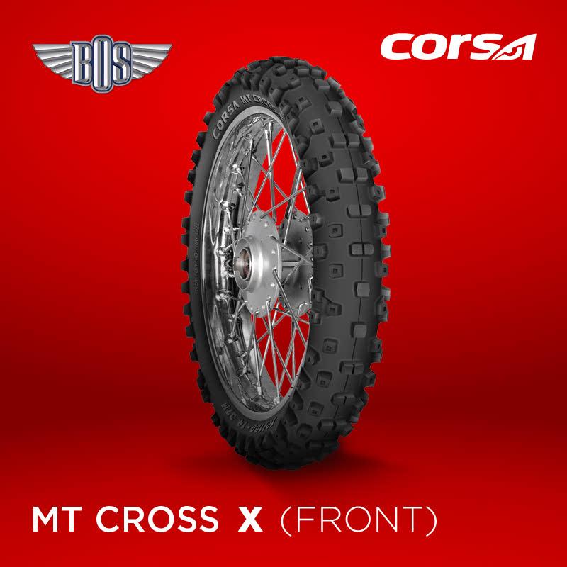 Ban Motor Corsa MT Cross-X  (Front )-100-100-19-Tubeless- GRATIS JASA PASANG
