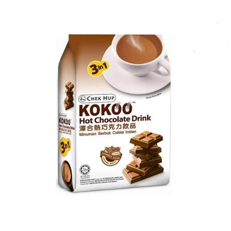 Chek Hup 3 In 1 Kokoo Hot Chocolate Drink