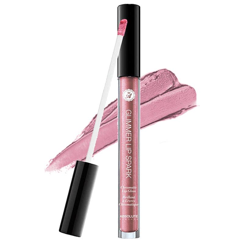 Absolute New York Glimmer Lip Spark Chromatic Lip Gloss MLGS01 Sunstone