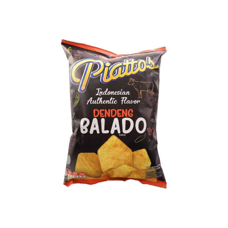 Piattos Snack Kentang Rasa Dendeng Balado 78 Gr