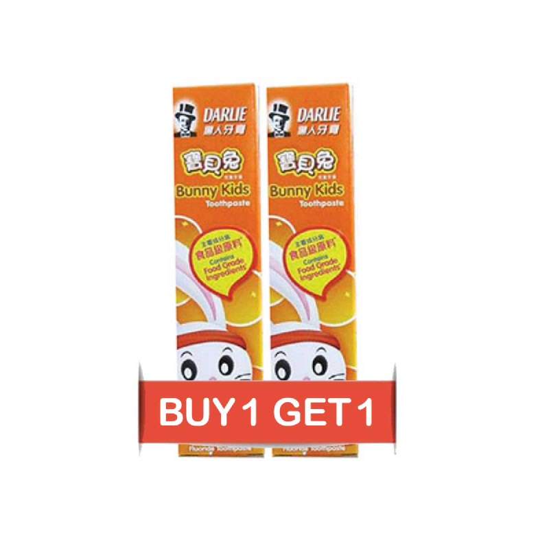 Darlie Pasta Gigi Bunny Kids Orange 40 Gr (Buy 1 Get 1)