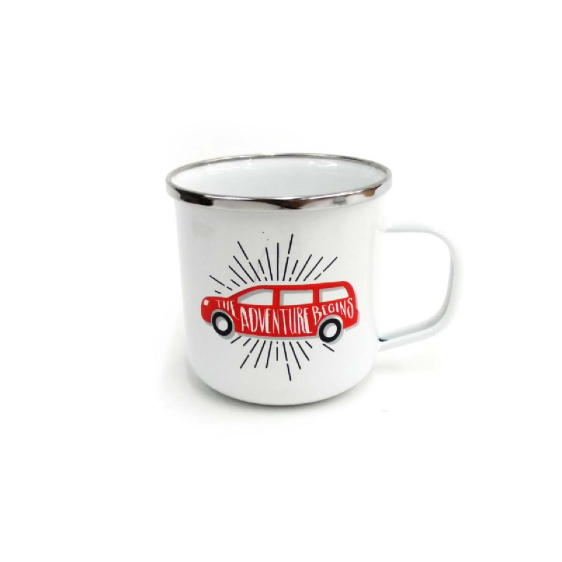 KIG Mug 9 Cm Tipe Adentur