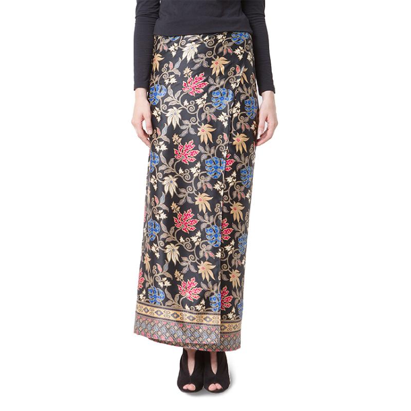 Raden Sirait Skirt Serut Nindya Blue