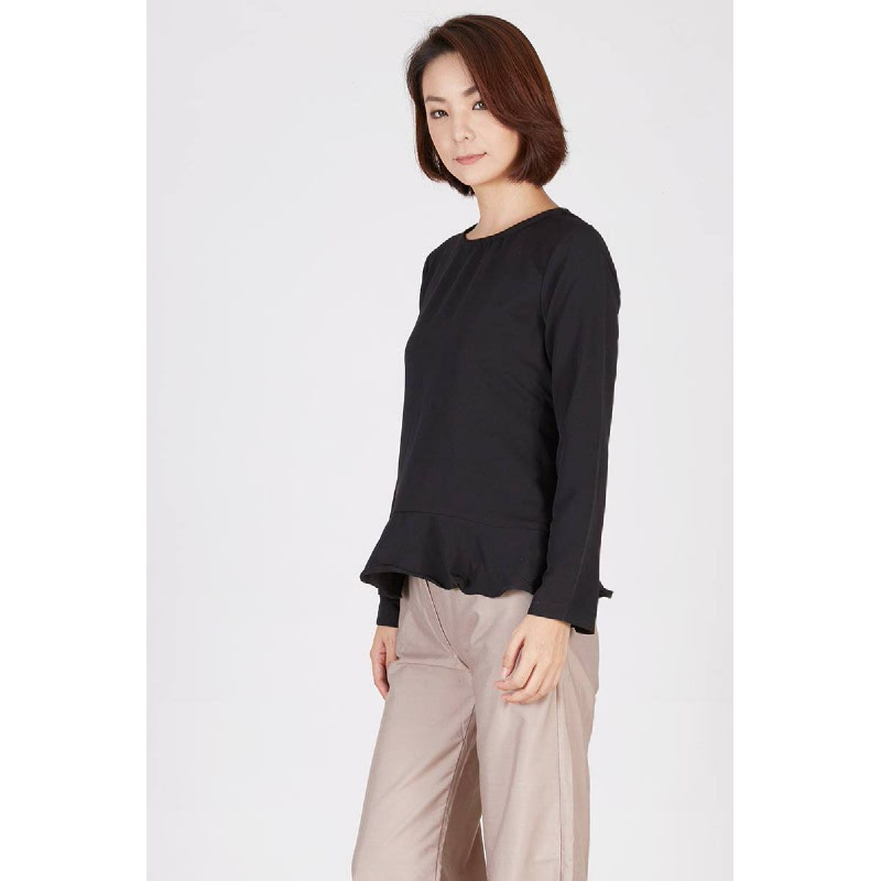 Raysel Knot Top Black