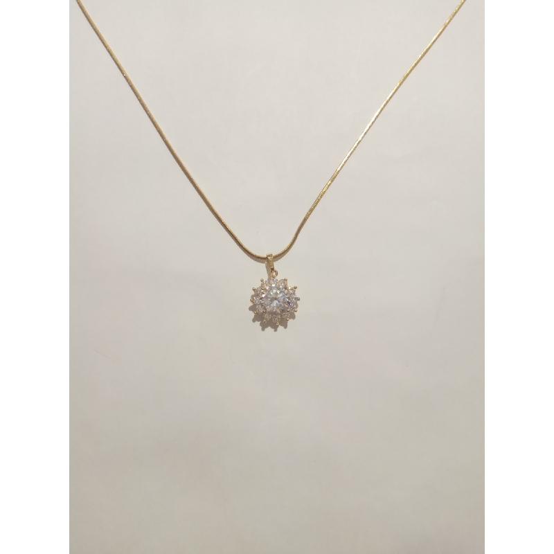 Ballin - Women Necklace FF N0007G Gold