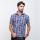 Gianni Visentin Regular Shirt Biru