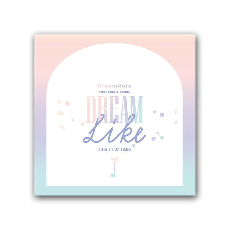 [CD] DreamNote - 1st Single Album - Dreamlike